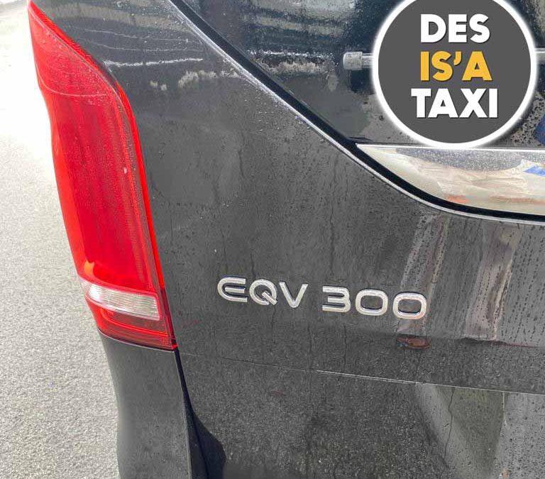 NEU im Fuhrpark: Der Luxus-Elektro-Van Mercedes EQV 300