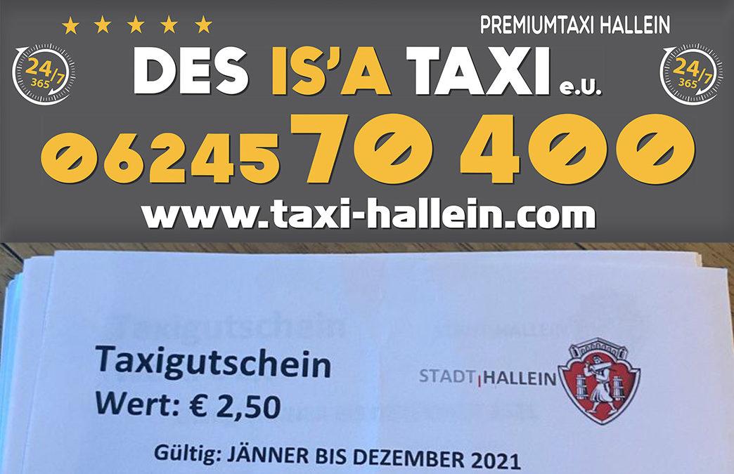 Senioren und Personen mit Behinderung erhalten ab sofort Taxigutscheine